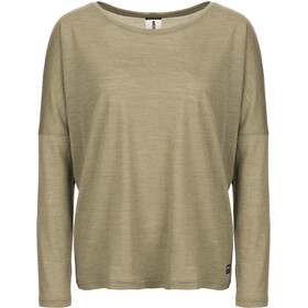 super.natural Jonser LS Top Women bamboo melange